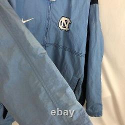 Vintage UNC Nike Jacket Size L North Carolina Tarheels Windbreaker Team Sports