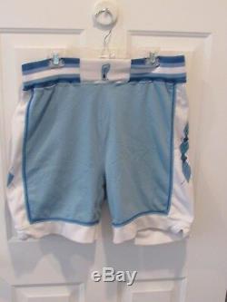 Vintage UNC North Carolina Tar Heels DeLong NCAA Basketball Shorts Jersey sz 34