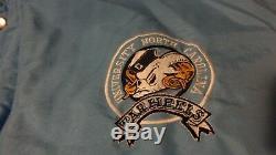 Vintage UNC North Carolina Tar Heels Starter Jacket Cole Anthony Coby Luke Cam