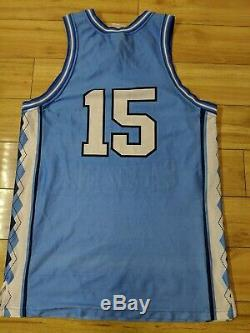 Vintage Vince Carter 1998 North Carolina UNC Tar Heels NCAA NBA jersey medium