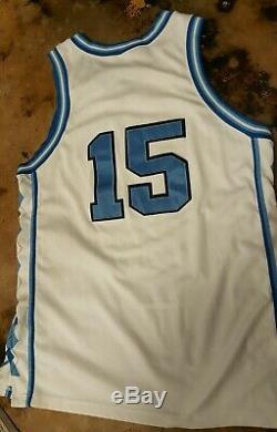 03bd997c8625 Vintage Vince Carter Unc Tar Heels  15 Authentic Nike Jersey (size 48)