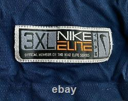 Vtg Nike Elite Michael Jordan Jersey UNC Tarheels Mens 3XL North Carolina Navy