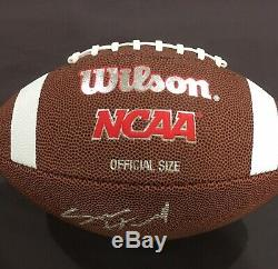WITH PROOF! SAM HOWELL Signed Autographed UNC TAR HEELS Football North Carolina