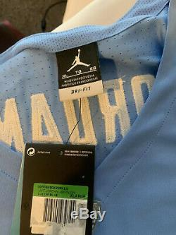 150 $ Authentiques Tn Nike Unc Tar Heels Jordan # 23 Basketball Jersey XL Cousu