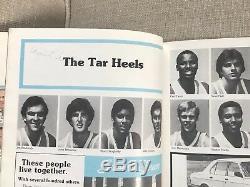 1982 Carolina Unc Tarheels Basketball Michael Jordan Pre Rookie Vintage Auto 1/1