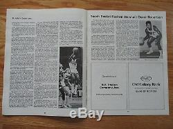 1982 Rancard Classique IV Unc Tarheels St. Programme John's Avec Ticket Michael Jordan