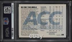 1992 Acc Tourney Champs'82 Unc Tar Talons Avec Michael Jordan #29 Psa 10 Gem Mint