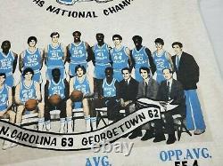 1992 Glory Days Vintage T-shirt Unc Tarheels Michael Jordan'82 USA XL 50/50 T.n.-o.