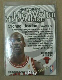 1997-1998 Michael Jordan Hoops Haute Tension Insert Chicago Bulls Unc Tarheels