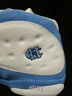 2004 Nike Air Jordan 13 Retro Unc Basketball Shoe Sz 17 Pe 310004-101 Talons De Tar