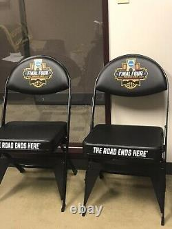 2017 Oregon Ducks Basketball Authentic Final Four Sideline Folding Chair Unc
