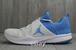 32 Nike Jordan Talons De Goudron Flyknit North Carolina Unc 921210-106 Taille 14