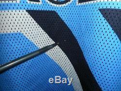 90 Vintage Starter Unc Caroline Du Nord Tarheels Blue Heaven Basketball Jersey XL
