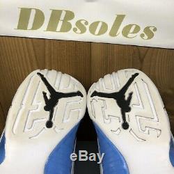 Air Jordan 9 Unc Tarheels Caroline Du Nord Taille 11 Last Dance Tir Dmp 3 4 5 6 8
