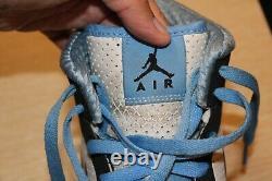 Air Jordan Alpha 1'university Blue' Hommes 9 Ue 42.5 Unc Tar Heels 392813-103