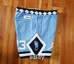 Air Jordan Nrg Unc Taille XL Mens North Carolina Tarheels Shorts Toison Cd0133-448