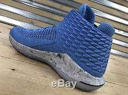 Air Jordan XXXII 32 Chaussures De Basketball Talons De Goudron Unc Carolina Blue Sz (aa1253-406)