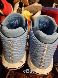 Air Jordan XXXII 32 Tar Heels Hommes Aa1253-406 Unc Bleu Chaussures De Basketball Pointure 14