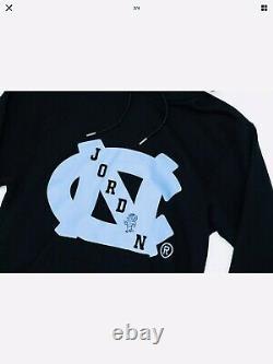 Air Jordan X Unc Nrg Hoodie Tar Heels Caroline Du Nord Taille L Nwt