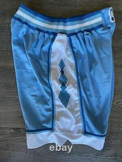 Authentic Game Worn 1993/94 Unc North Carolina Tar Talons Short 36 Nike