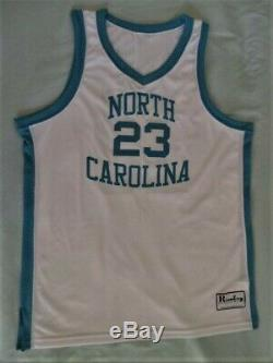 Authentic North Carolina Chaussures À Talons Unc Michael Jordan Jersey 48 XL USA New Xlrg
