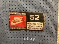 Authentique Nike Unc Caroline Du Nord Tar Heels Michael Jordan College Jersey 52 2xl