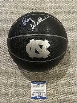 Beckett Coa! Roy Williams Signé Autographié Unc Rat Talons Basketball Caroline