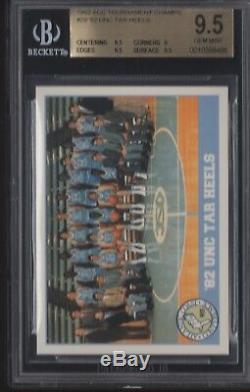 Bgs 9.5 Michael Jordan 1992 Acc Champions Du Tournoi # 29 Unc Tar Heels Gem Mint