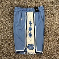 Carolina Basketball Shorts Unc Jordan Brand Jumpman Tar Heels Taille Des Hommes Grands