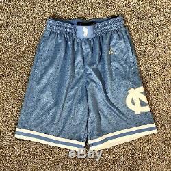 Carolina Basketball Shorts Unc Jordan Brand Jumpman Tar Heels Taille Homme Grand L