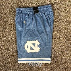 Carolina Basketball Shorts Unc Jordan Brand Jumpman Tar Heels Taille Homme Petite S