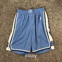 Carolina Basketball Shorts Unc Jordan Marque Jumpman Tar Heels Taille Petit S