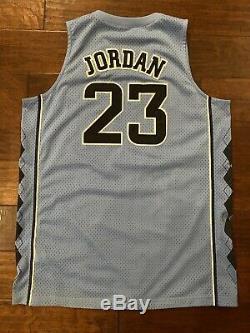 Carolina Michael Jordan Unc Jersey Caroline Du Nord Tarheels Grande Taille