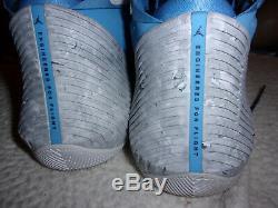Caroline Du Nord Jordon Pourquoi Pas Zerounc Tarheels Chaussures Sz 12. Très Difficile À Trouver