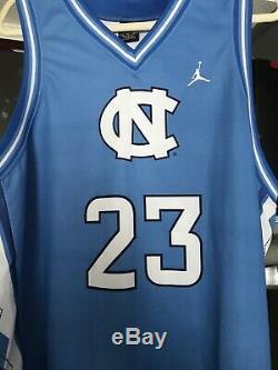Caroline Du Nord Tarheels Basketball Michael Jordan # 23 Jersey Taille XL Unc