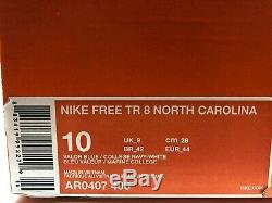Chaussures À Talons Nike Nike Sz 10 Unc Tar Caroline Du Nord Gratuites Tr 8 College Ar0407-400