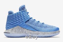 Chaussures Air Jordan XXXII 32 Unc Tar North Carolina North Carolina Chaussures -taille 12 -aa1253 406 -nouveau