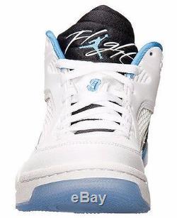 Chaussures Hommes Jordan Oympic 9 Flight 9.5 Off Un Leg - Bleu Léger 13