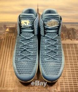 Chaussures Nike Air Jordan XXXII 32 Unc Caroline Du Nord Taille 14 14 Aa1253 406 Nouveau