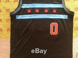 Coby Blanc Signé Autograph Chicago Bulls Jersey Nba Unc Tar Heels