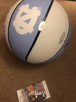 Cole Anthony Signé Caroline Du Nord Tar Heels Basketball Unc Jsa Cert
