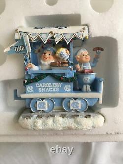 Danbury Mint Unc Tar Heels Christmas Express Train Boxed Ncaa Chapel Hill Holida