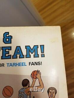 Dean Et L'équipe Coloring Book Kip Gordon Unc Tarheels Michael Jordan Rare
