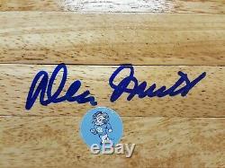 Dean Smith Carrelage Unc Autographié Autographié Tarheels 6x6 Gai Gv166670