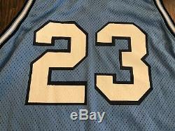Delong Authentique Michael Jordan # 23 Unc North Carolina Tar Heels Jersey & Shorts