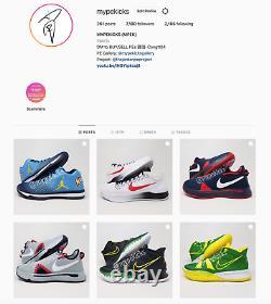Ds Jordan Promo 31 XXXI Unc Tarheels Pe Sz 14 Joueur Exclusivité Chaussures
