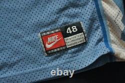 Ed Cota #5 Unc Tar Heels North Carolina Nike Blue Men Cousu Homme Authentic 48 XL