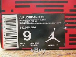 Escarpins Nike Air Jordan Xx9 Sz 9 Inédits En Caroline Du Nord Sur Goudron Unc Pe Promo