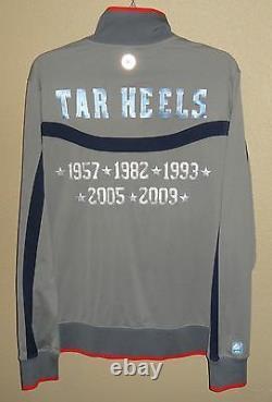 Euc Mens M Nike Air Jordan North Carolina Tar Heels Elite Basketball Jacket Unc