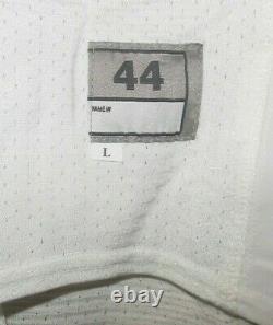 Game Worn Utilisé Nike Caroline Du Nord Tar Talons Unc Football Jersey #86 Taille 44